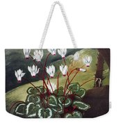 Thornton: Cyclamen Weekender Tote Bag