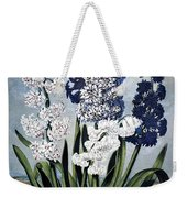 Thornton: Hyacinths Weekender Tote Bag
