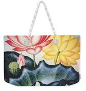 Thornton: Lotus Flower Weekender Tote Bag