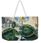 Thornton: Water Lily Weekender Tote Bag
