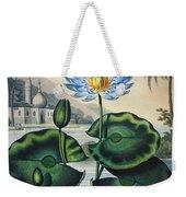 Thornton: Water Lily Weekender Tote Bag