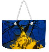 Thorny Tree Blue Sky Weekender Tote Bag