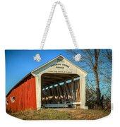 Thorpe Ford Covered Bridge Weekender Tote Bag