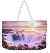 Thor's Well Weekender Tote Bag