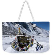 Thorong La Pass, Annapurna Circuit, Nepal Weekender Tote Bag