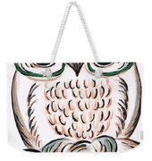 Owl- Those Spectacles  Weekender Tote Bag