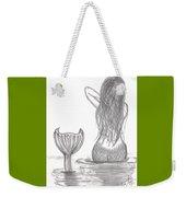 Thoughtful Mermaid Weekender Tote Bag