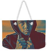 Thoughtful Youth 11 Weekender Tote Bag