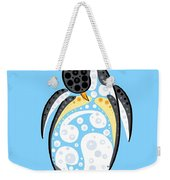 Thoughts And Colors Series Penguin Weekender Tote Bag
