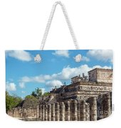 Thousand Columns And Temple Of The Warriors Weekender Tote Bag