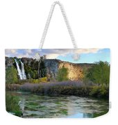 Thousand Springs Idaho Weekender Tote Bag