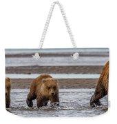 Three Bears Weekender Tote Bag
