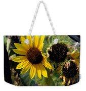 Three Beautiful Sunflower Weekender Tote Bag