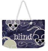 Three Blind Mice Children Chalk Art Weekender Tote Bag