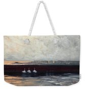 Three Boats Weekender Tote Bag
