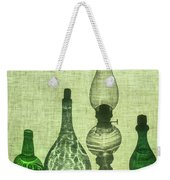 Three Bottles And A Lamp Weekender Tote Bag