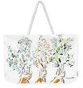 Three Bouquets Weekender Tote Bag