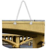 Three Bridges Weekender Tote Bag