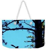 Three Crows In A Tree Weekender Tote Bag