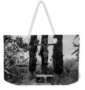 Three Cypresses Weekender Tote Bag