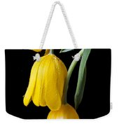Three Drooping Tulips Weekender Tote Bag