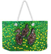 Three Ducklings Weekender Tote Bag