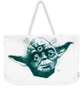 Three Eyed Yoda Weekender Tote Bag