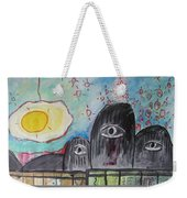 Three Eyes Weekender Tote Bag