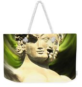 Three Faced Statue Weekender Tote Bag