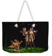 Three Fairies At A Pond Weekender Tote Bag