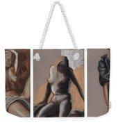 Three Figures - Triptych Weekender Tote Bag