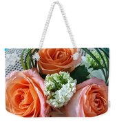 Three From The Heart Weekender Tote Bag