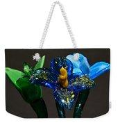 Three Glass Flowers Weekender Tote Bag