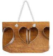 Three Heart Cutters Weekender Tote Bag
