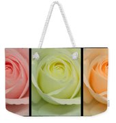 Three In A Row Weekender Tote Bag