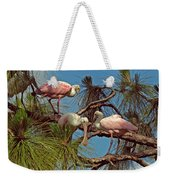 Three In A Tree Weekender Tote Bag