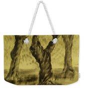 Three Is As Tree Gets Weekender Tote Bag