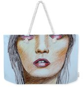 Three Kisses Weekender Tote Bag
