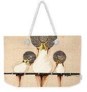 Three Ladies On A Dock  Weekender Tote Bag