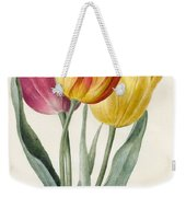 Three Lily Tulips  Weekender Tote Bag