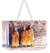 Three Little Monks Weekender Tote Bag