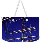 Three Mast Sailing Rig Weekender Tote Bag