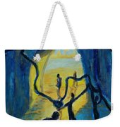 Three Moments. Second Moment Walking And Dancing Weekender Tote Bag