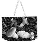 Three Mushrooms Weekender Tote Bag