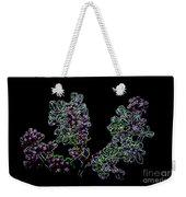 Three Neon Lilacs Weekender Tote Bag