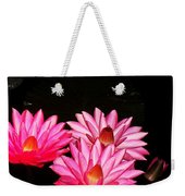 Three Night Lilies  Weekender Tote Bag