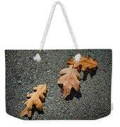 Three Oak Leaves Weekender Tote Bag