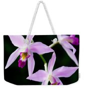 Three Orchids Weekender Tote Bag