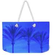 Three Palms And One Flag Weekender Tote Bag