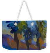 Three Palms At Palm Desert Weekender Tote Bag